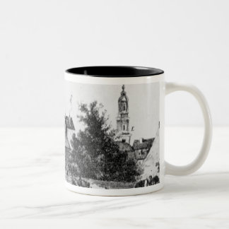 Lodging at the Rosenthaler gate Two-Tone Coffee Mug