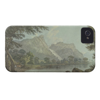 Lodore Rocks - fall & cottage distance (pen & ink iPhone 4 Covers