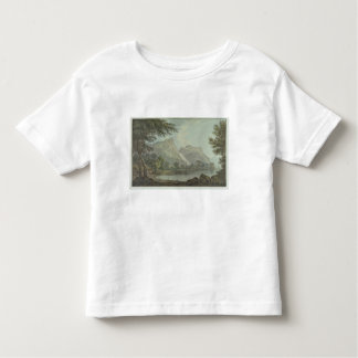 Lodore Rocks - fall & cottage distance (pen & ink Toddler T-Shirt