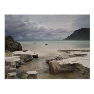 Lofoten - Skagsanden beach postcard no text