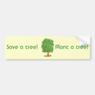Lofty Tree Bumper Stickers