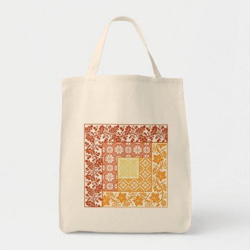 Log Cabin Autumn Bags