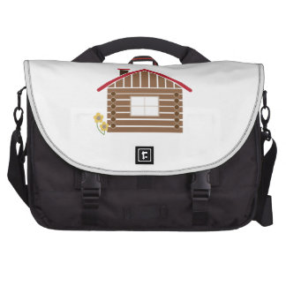Log Cabin Commuter Bag