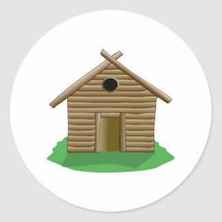 Log Cabin Stickers