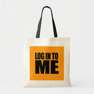 LOG IN TO ME - Halloween - png Tote Bags