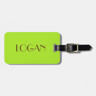 Logan Luggage Tag for Travel