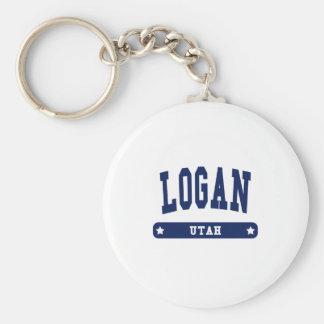 Logan Utah College Style tee shirts Key Ring