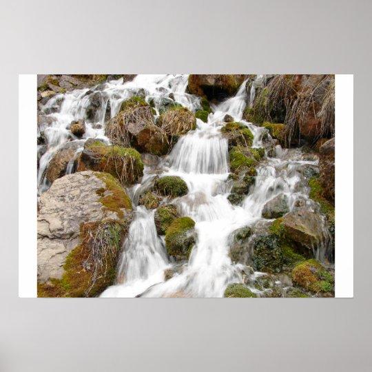 Logan Waterfall Poster