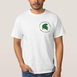 Logan's Flaming Spartan Circle T-shirt