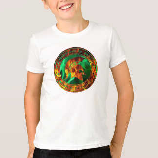 Logan's Flaming Spartan Circle T Shirts