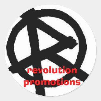 loganspics 008, revolution promotions round sticker