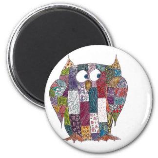 LogCabin Owl Magnet