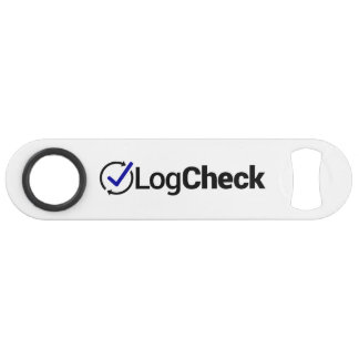 LogCheck Bottle Opener