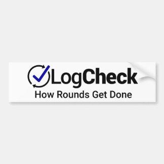 LogCheck Bumper Sticker