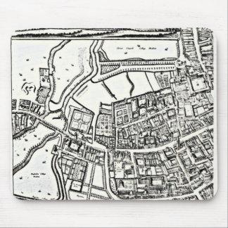 Loggan's map of Oxford, Eastern Sheet Mouse Mat