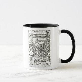 Loggan's map of Oxford, Eastern Sheet Mug