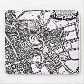 Loggan's map of Oxford, Western Sheet Mouse Mat