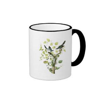 Loggerhead Shrike John Audubon Birds of America Ringer Mug