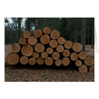 Logging Greeting Cards