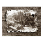 Logging Postcard