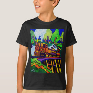 Logging Train T-Shirt