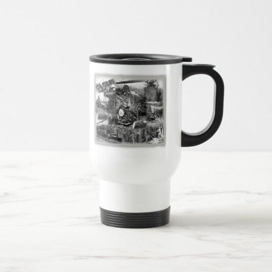 Logging Travel Coffee Mug