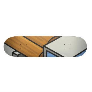 Logging truck skateboards