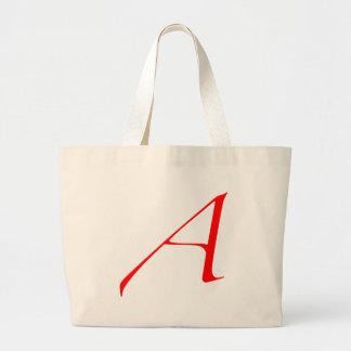 Logidea Atheist logo Canvas Bags