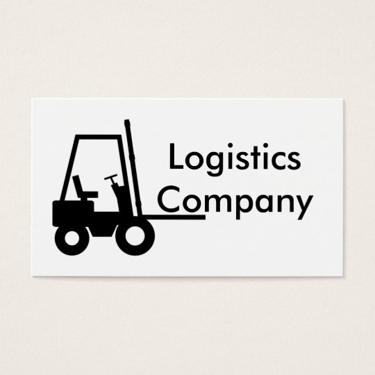 Logistics Company Business Card