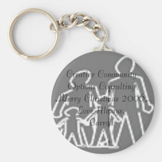 logo2, Creative Community Options ConsultingMer... Key Ring