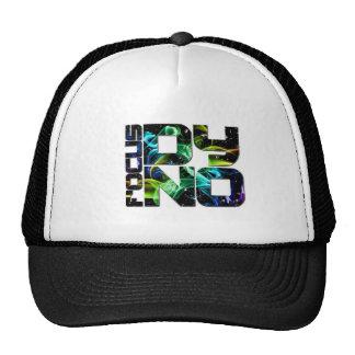 Logo 3 white smokey trucker hats
