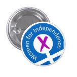 Logo badge pins at Zazzle