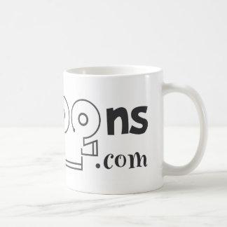 logo black classic white coffee mug
