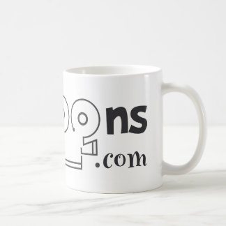 logo black coffee mug