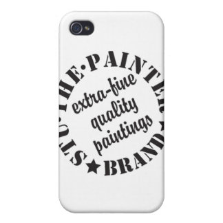 logo black large copy iPhone 4/4S covers