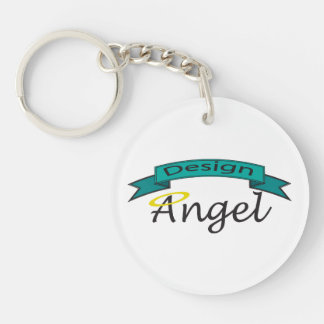 Logo Branded Single Sided Key chain