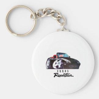 logo car image basic round button key ring