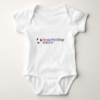 logo-chinese copy baby bodysuit