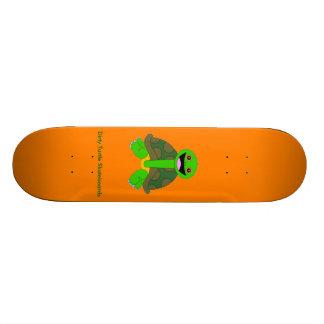 Logo Deck, Orange Skate Boards