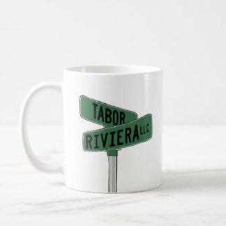 LOGO DESIGN - TABER-RAVIERA COFFEE MUG