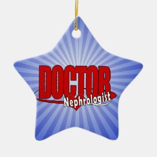 LOGO DOCTOR Nephrologist Christmas Ornament