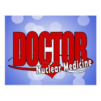 LOGO DOCTOR NUCLEAR MEDICINE POSTCARD