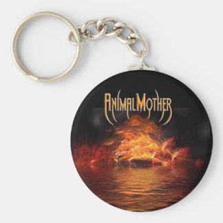 Logo Flame keychain