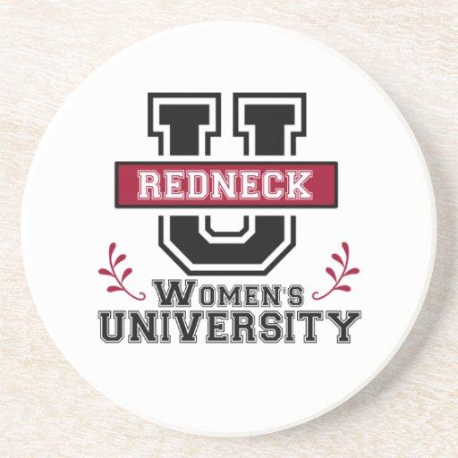 Logo for Redneck Women Drink Coaster