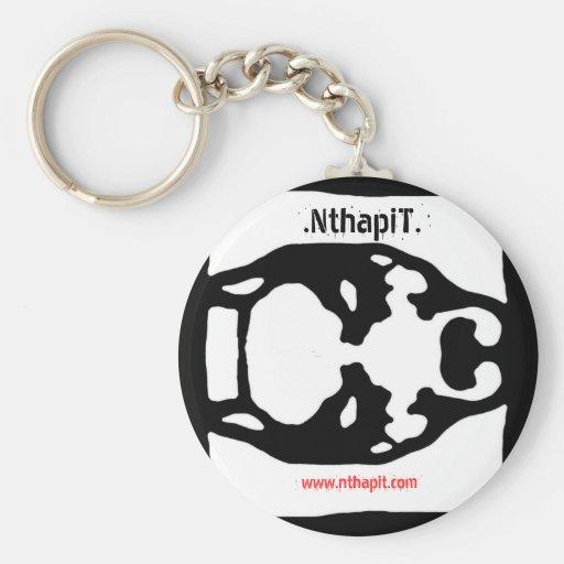logo full,  .NTHAPIT. , www.nthapit.com Keychain
