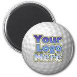 Logo Golf Ball Magnet