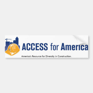 logo.horizontal.RGB, America's Resource for Div... Bumper Sticker