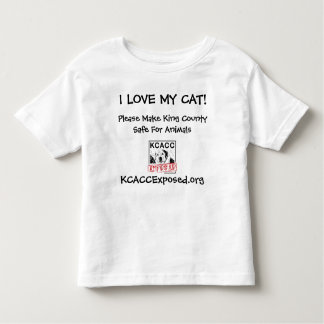 logo, I LOVE MY CAT!, KCACCExposed.org, Please ... T-shirts