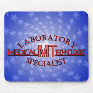 LOGO LABORATORY SPECIALIST MT MEDICAL TECHNOLOGIST MOUSE MAT