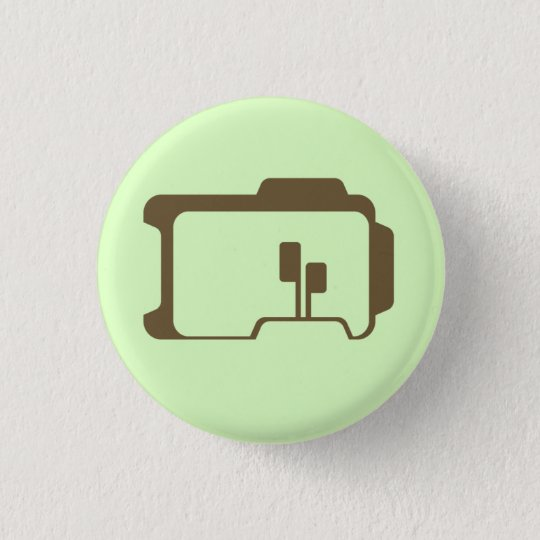 Logo (Light Green) 3 Cm Round Badge